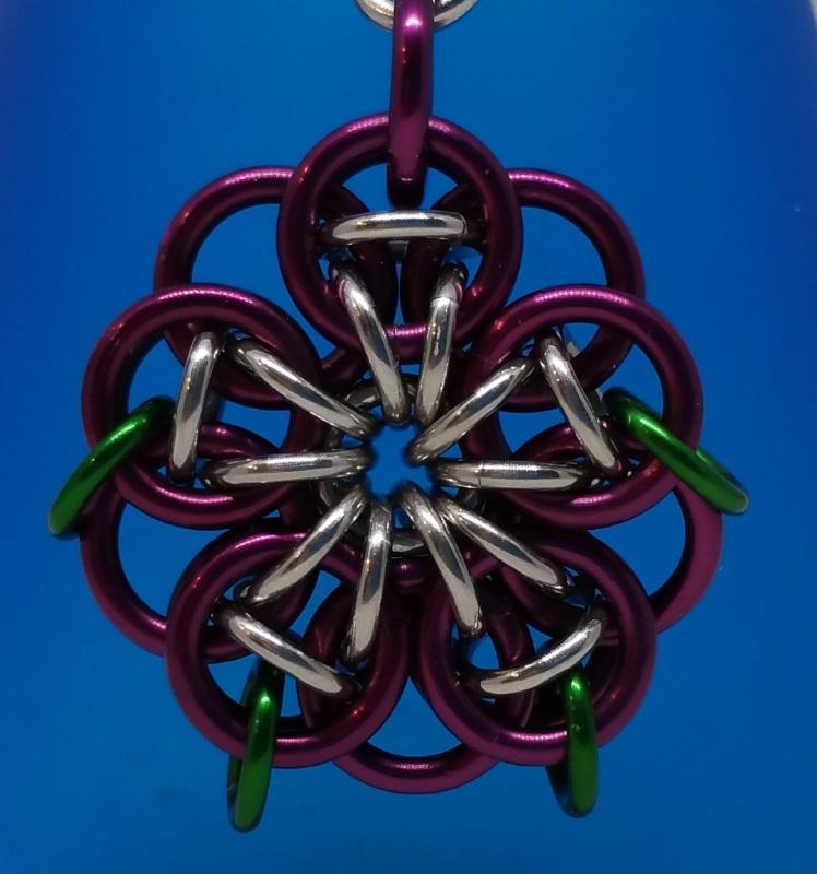 Celtic Flower Pendant Books & Chains