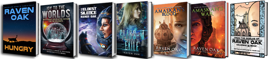 Books by Raven Oak